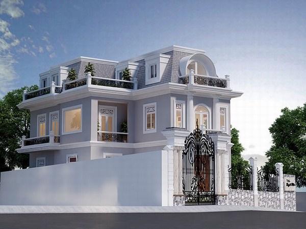 Phong cách thiết kế biệt thự theo lối cổ điển