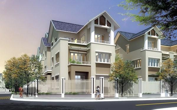 Mẫu thiết kế nhà ở biệt thự