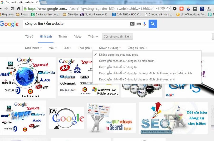 hình ảnh trong seo web