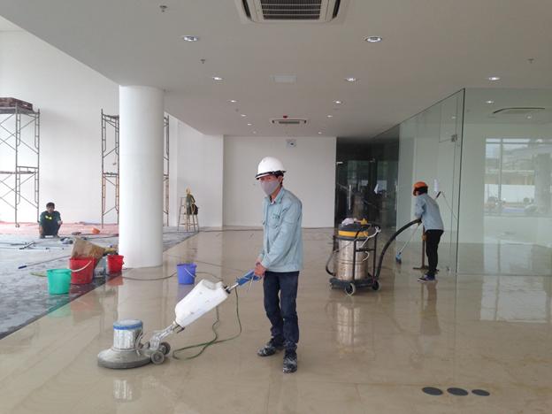 Nhà mới xây xong có nhiều thứ cần được dọn dẹp