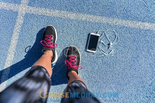 Sefie với giày