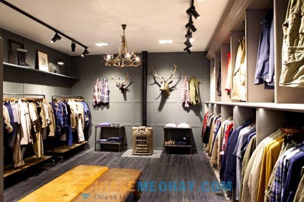 Các bước chuẩn bị mở cửa hàng kinh doanh quần áo
