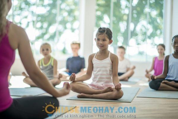 Tập thể dục giúp trẻ giữ gìn sức khỏe