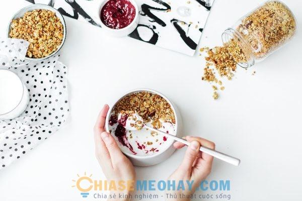 Thực đơn ăn sáng đơn giản dành cho người giảm cân