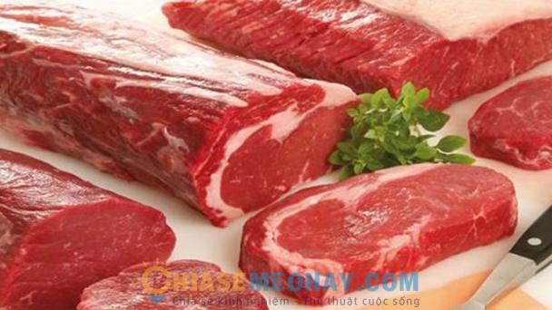 Cách chọn thịt bò