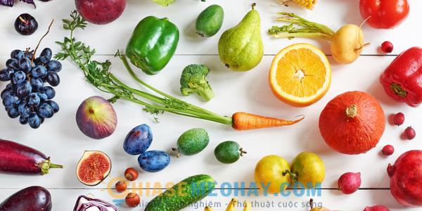Những loại thực phẩm chứa hàm lượng calo thấp