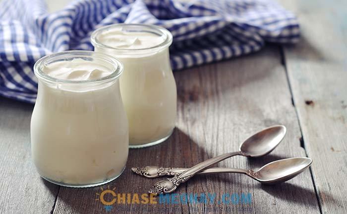 Lợi ích làm đẹp của sữa chua
