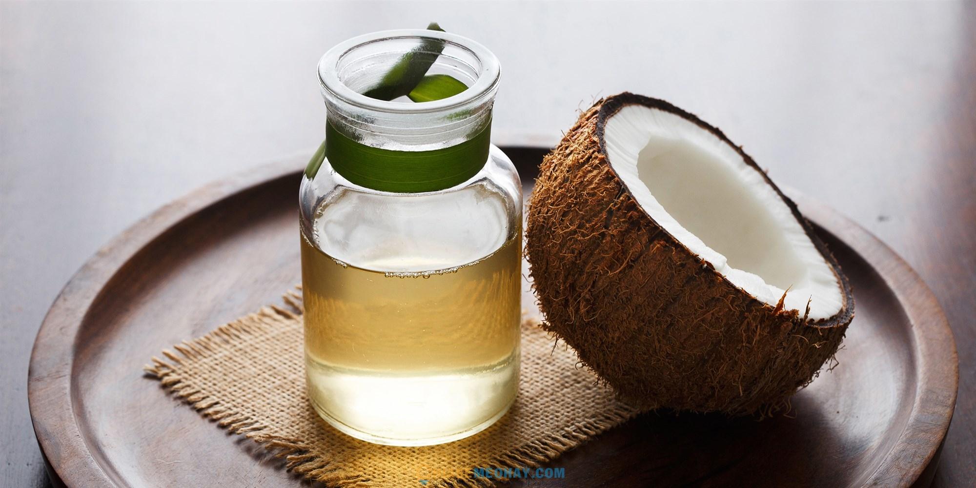 Sử dụng dầu dừa