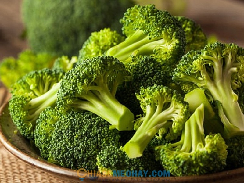 Những loại rau củ nhiều vitamin nhất