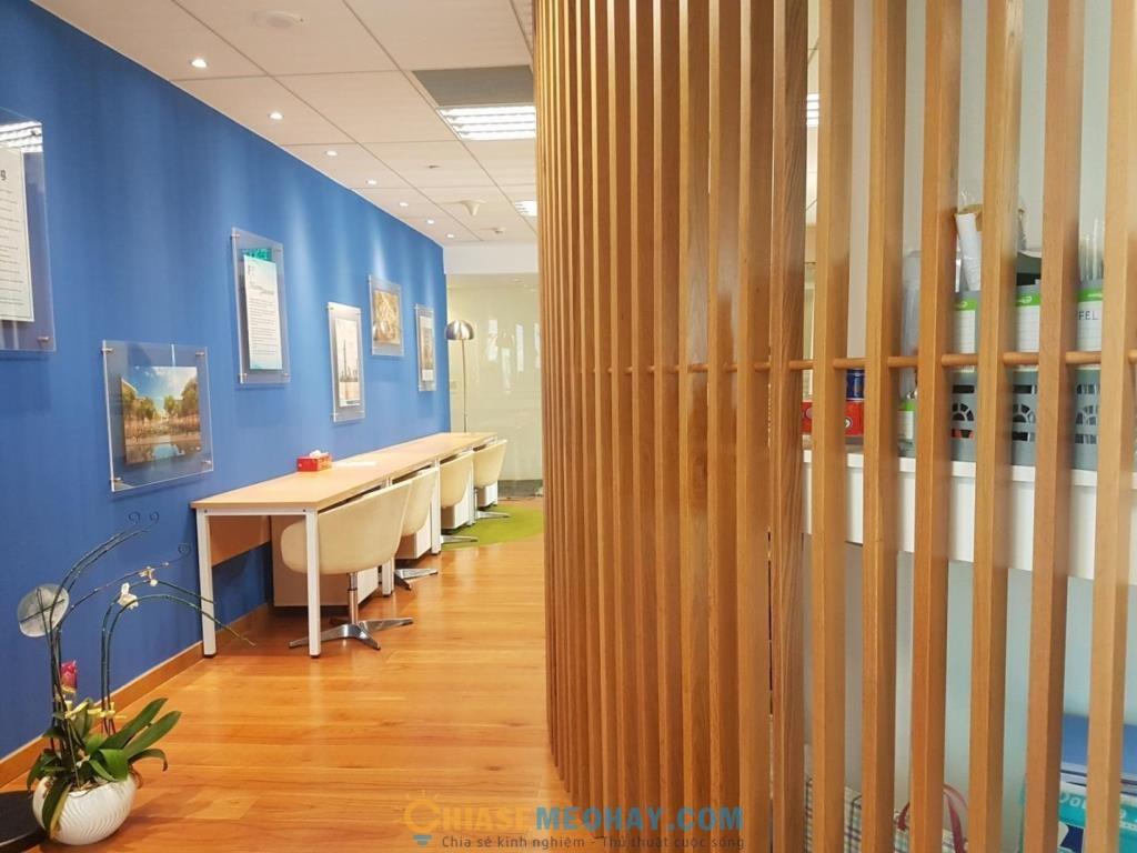 Nội thất văn phòng với chất liệu gỗ tinh tế mà không kém phần sang trọng