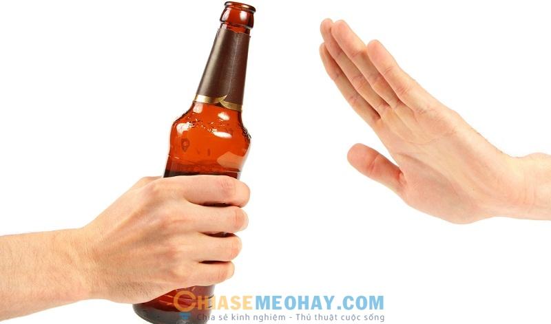 Hạn chế sử dụng chất kích thích và rượu bia