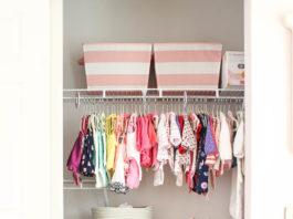 Mẹo sắp xếp quần áo