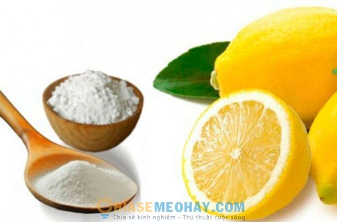 Những tác dụng của baking soda và chanh