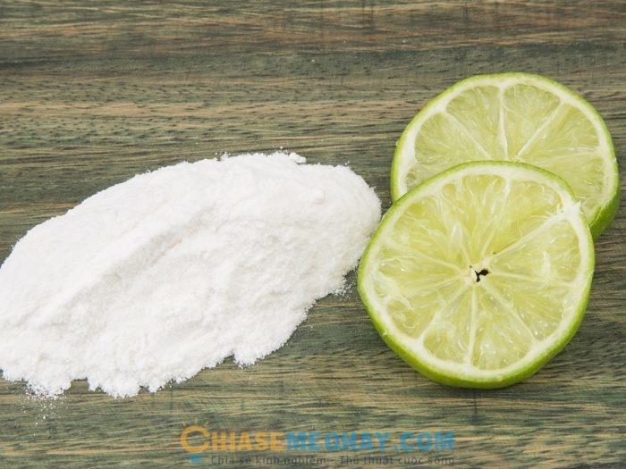 Hỗn hợp giữa baking soda và chanh có rất nhiều tác dụng cho sức khỏe