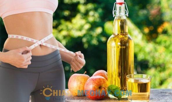 Uống giấm táo có thể giảm cân hiệu quả