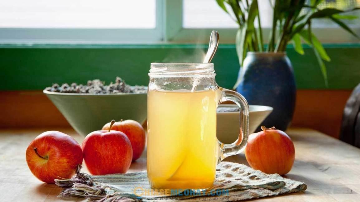 Giấm táo có nhiều lợi ích cho sức khỏe
