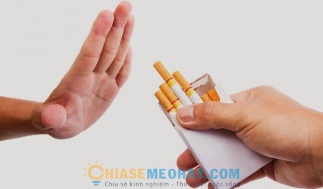Hút thuốc vừa hại sức khỏe vừa làm da lão hóa nhanh