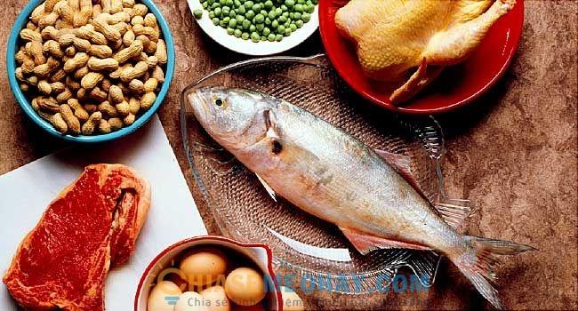 Không nạp đủ protein cũng là lý do khiến bạn không thể giảm cân