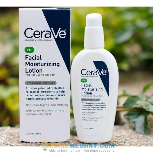 PM Facial Moisturizing Lotion của Cerave