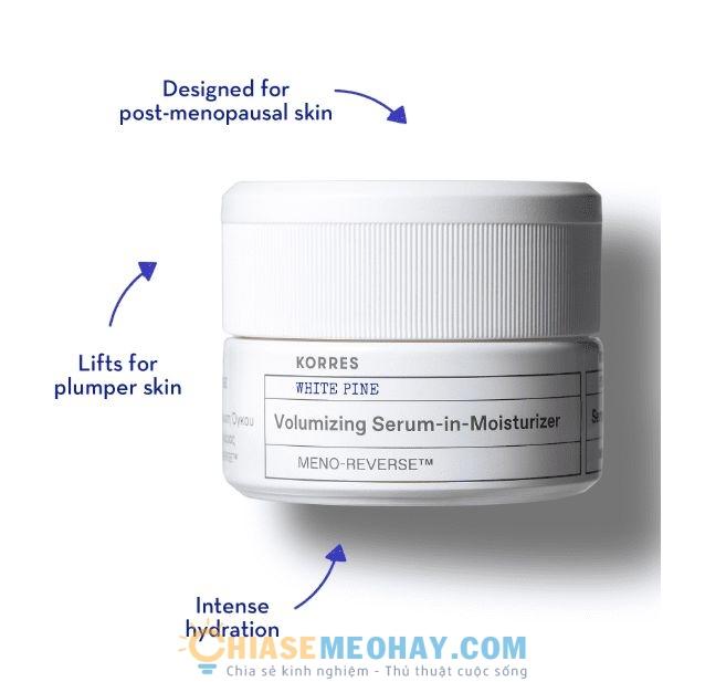 White Pine Meno-Reverse Volumizing Serum-In-Moisturizer