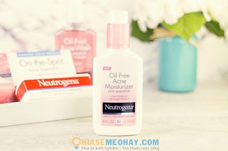 Oil-Free Acne Moisturizer của Neutrogena