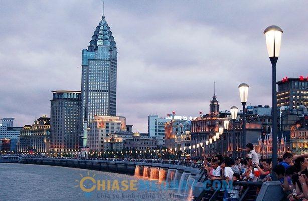 Thượng Hải là một thành phố thu hút du lịch của Trung Quốc